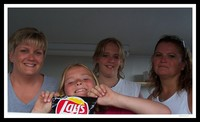 Girls Eating Chips
