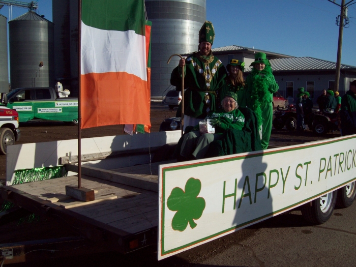 St Patricks Day Float